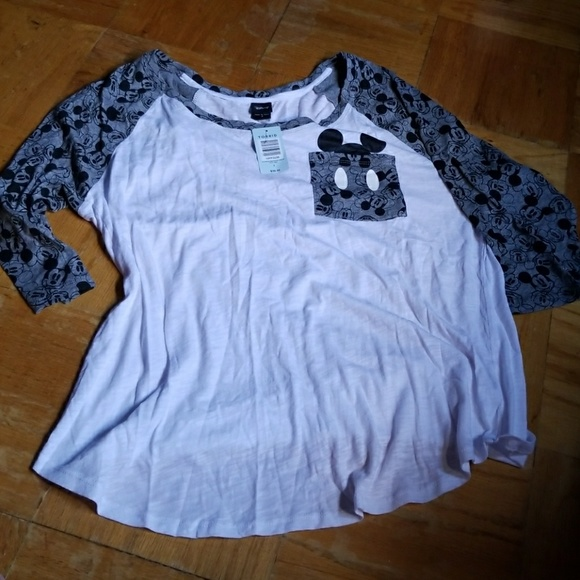 d80abce3c87 Plus Size Mickey Mouse T-Shirt